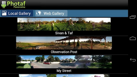 Photaf Panorama (Free) screenshot 01