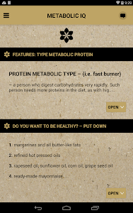 Metabolic IQ screenshot 11
