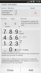 Diabetes Tools - Glucose screenshot 3