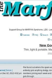 The Marfan Forum screenshot 1