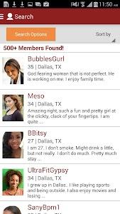 Black People Meet Singles Date screenshot 2