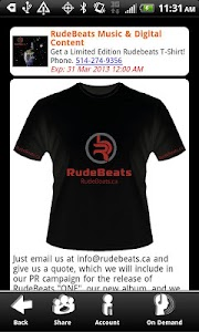 RudeBeats Backstage VIP screenshot 3