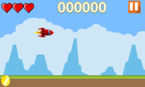 Flappy Rocket screenshot 6