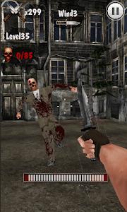 Knife King3-Zombie War 3D screenshot 3