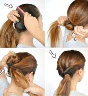 step hairstyles school