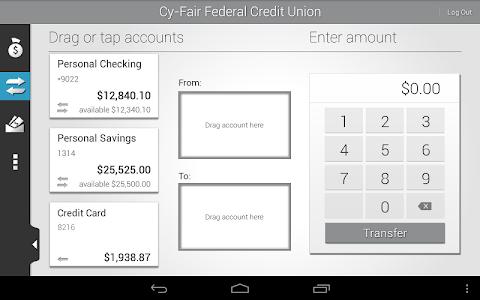 Cy-Fair FCU Mobile Banking screenshot 7