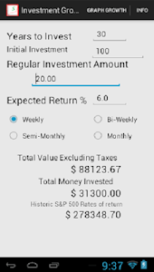 Investment Growth screenshot 0