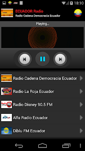 RADIO ECUADOR screenshot 2