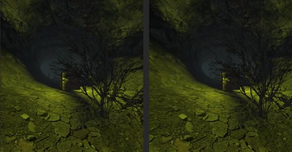 VR Creepy Cave for Cardboard screenshot 1