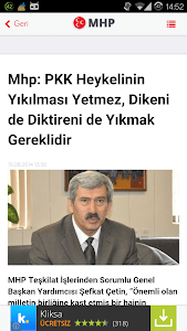 MHP Haberleri screenshot 1