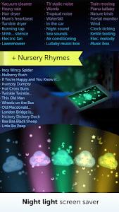 Baby White Noise+Nursery Rhyme screenshot 3