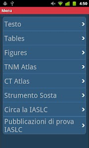 IASLC Staging Atlas - Italian screenshot 1