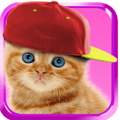 Baby Cat Cute Live Wallpaper Talking Cats Android Apps On Google Play
