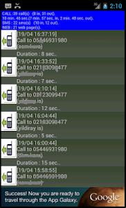 Historoid Phone Call History screenshot 2