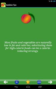 Nutrition Tips screenshot 2