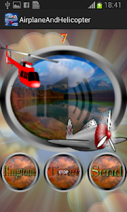 Airplane & Helicopter Ringtone screenshot 5