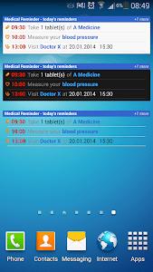 Medical Reminder screenshot 0