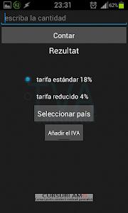 VAT calculator screenshot 6