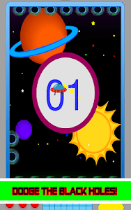 Avoid The Black Holes or Die! screenshot 6