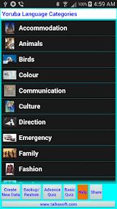 Speak/Write Yoruba Language screenshot 1