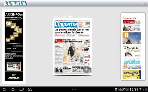 L'Impartial journal screenshot 6