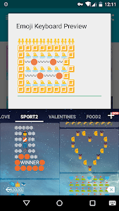 Sport Art - Emoji Keyboard🎿🎿 screenshot 3