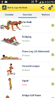 Legs Workout and Exercises screenshot 04