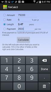 Simple Financial Calculator screenshot 2