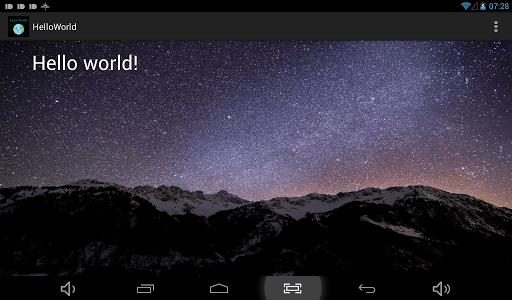 Hello World screenshot 3