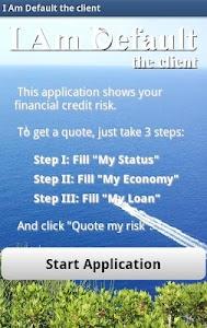 Risk Estimater by I Am Default screenshot 0