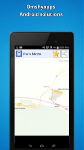 Paris Metro Map screenshot 2