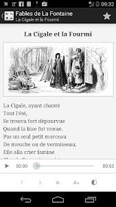 La Fontaine Audio - Célèbres 1 screenshot 1