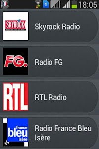 Radio France screenshot 2