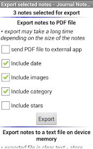 Journal Notes Multimedia screenshot 6