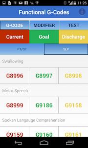Functional G-Codes (PT/OT/SLP) screenshot 2