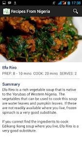 Recipes from Nigeria screenshot 2