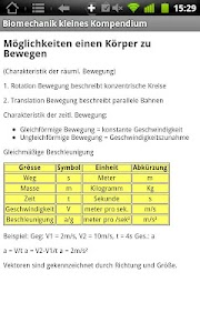 Physiokompendium Biomechanik screenshot 4
