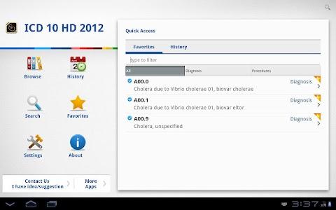 ICD 10 HD 2012 screenshot 4