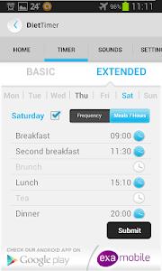 Diet Timer Fast Way XXL ->Slim screenshot 4