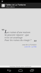 La Fontaine Audio - Sélection screenshot 0