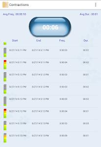 My Contractions Tracker screenshot 7