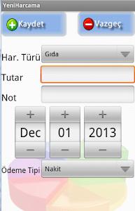Gelir Gider Takibi screenshot 1
