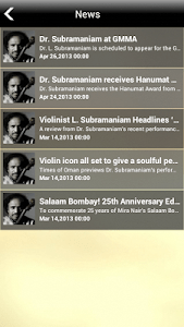 Indian violin Dr.L.Subramaniam screenshot 4