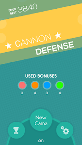 Cannon Defense screenshot 0