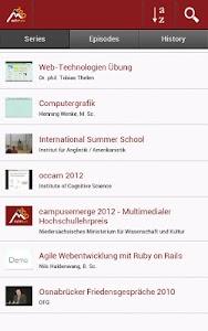 Opencast Matterhorn 2GO screenshot 1