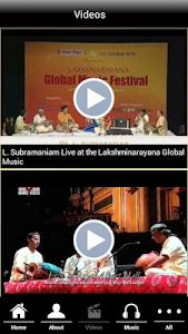 Indian violin Dr.L.Subramaniam screenshot 2