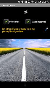 Text Response screenshot 2