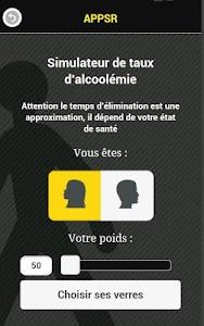 APPSR  Appli Sécurité Routière screenshot 1