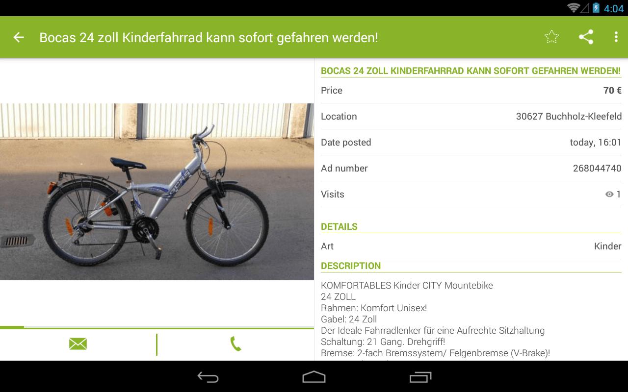 eBay Kleinanzeigen  AndroidApps auf Google Play