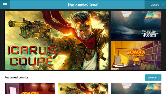 The Comics Level screenshot 0